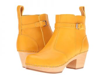 Swedish Hasbeens Jodhpur Warm Yellow at 6pm
