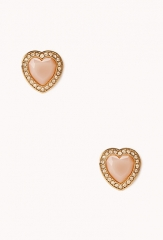 Sweetheart Glam Studs at Forever 21
