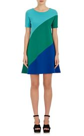 Swirl Wool A-Line Dress by Lisa Perry at Barneys
