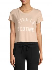 Sydney Viva La Bedtime Cotton Tee at Saks Off 5th