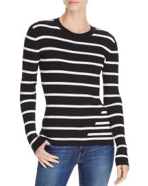 T by Alexander Wang Fitted Striped Sweater  at Bloomingdales