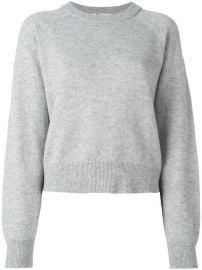 T By Alexander Wang Crew Neck Jumper at Farfetch