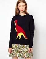 T Rex Sweater by Peter Jensen at Asos
