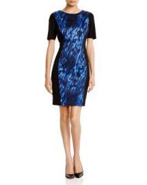T Tahari Allison Printed Dress at Bloomingdales