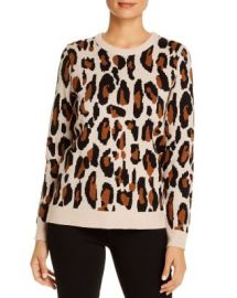 T Tahari Leopard Sweater Women - Bloomingdale s at Bloomingdales