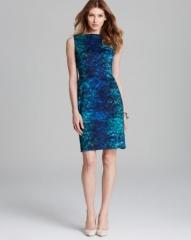 T Tahari Skyler Sahara Print Sleeveless Dress at Bloomingdales