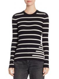 T by Alexander Wang - Fitted Rib Sweater at Saks Fifth Avenue