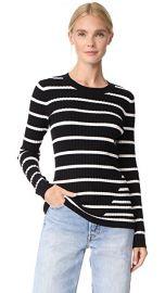 T by Alexander Wang Ribbed Intarsia Sweater at Shopbop