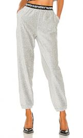 T by Alexander Wang Stretch Corduroy Pant in Heather Grey from Revolve com at Revolve