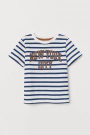 T-shirt with Printed Design at H&M