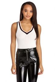 TAKE CHARGE VARSITY TANK BODYSUIT at Windsor Store