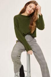 TALL Ribbed Crop Sweater - Sweaters   Knits - Clothing at Topshop
