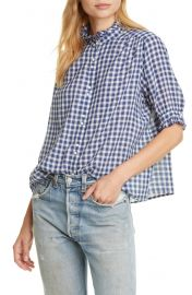 THE GREAT  The Cedar Plaid Shirt   Nordstrom at Nordstrom