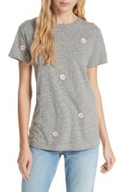 THE GREAT  The Embroidered Slim Tee   Nordstrom at Nordstrom