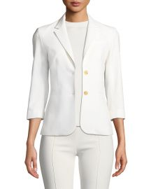 THE ROW New Schoolboy Two-Button Blazer at Neiman Marcus
