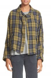 THE GREAT  Plaid Jacket at Nordstrom