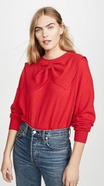THE GREAT  The Cashmere Bow Sweater at Shopbop