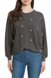 THE GREAT  The Embroidered Bubble Sweatshirt  Nordstrom Exclusive at Nordstrom