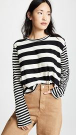 THE GREAT  The Long Sleeve Crop Tee at Shopbop
