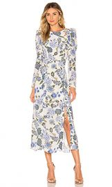 THURLEY Valentina Dress in Bluebell from Revolve com at Revolve