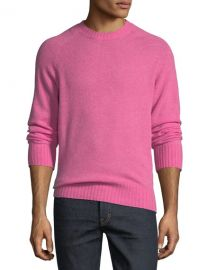 TOM FORD Super-Soft Wool-Blend Crewneck Sweater at Neiman Marcus