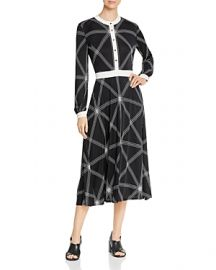 TORY BURCH ANJA PRINTED MIDI DRESS at Bloomingdales