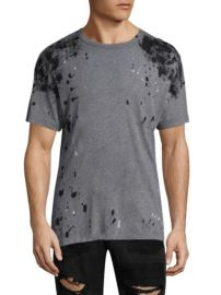 TRUE RELIGION - EMBELLISHED COTTON TEE at Saks Fifth Avenue