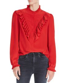 Taccora Deluxe Ruffled Shirt by Zadig and Voltaire at Bloomingdales