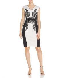 Tadashi Shoji Embellished Neoprene Dress Women - Bloomingdale s at Bloomingdales