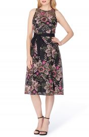 Tahari Fit   Flare Dress at Nordstrom