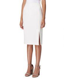 Tahari ASL Front-Slit Crepe Pencil Skirt     Reviews - Skirts - Women - Macy s at Macys