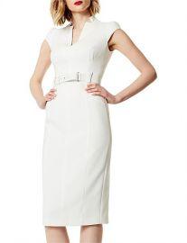 Tailored Belted Dress by Karen Millen at David Jones
