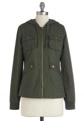 Take to the Lake Jacket in Green at ModCloth