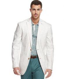 Tallia Multi Dot Linen Blazer at Macys