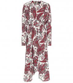 Tamara paisley-printed dress at MyTheresa