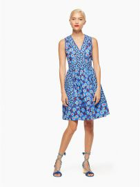 Tangier Floral Fit and Flare Dress at Kate Spade