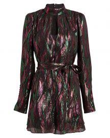 Tania Rainbow Mini Dress by Saloni at Intermix
