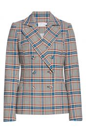 Tanya Taylor Melena Plaid Double Breasted Jacket  Regular  amp  Plus Size    Nordstrom at Nordstrom