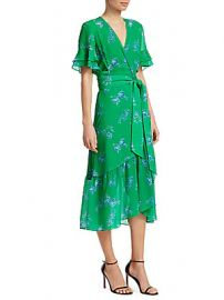 Tanya Taylor - Blaire Floral-Print Dress at Saks Fifth Avenue