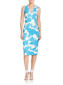 Tanya Taylor - Carri Paisley Floral Sheath Dress at Saks Fifth Avenue