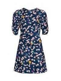 Tanya Taylor - Liz Silk Floral Dress at Saks Fifth Avenue