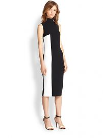 Tanya Taylor - Lola Two-Tone Turtleneck Dress at Saks Fifth Avenue