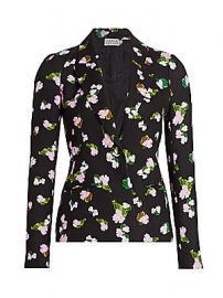 Tanya Taylor - Waverly Floral Blazer at Saks Fifth Avenue