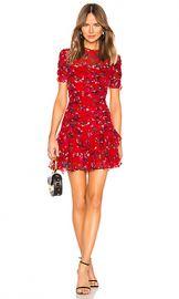 Tanya Taylor Carti Dress in Red from Revolve com at Revolve