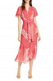 Tanya Taylor New Blaire Floral Silk  amp  Cotton Dress  Regular  amp  Plus Size    Nordstrom at Nordstrom