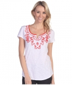 Tanya beaded tee by Lucky Brand at Zappos at Zappos