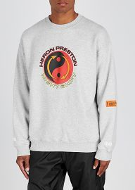 Tao Logo sweatshirt by Heron Preston at Harvey Nichols