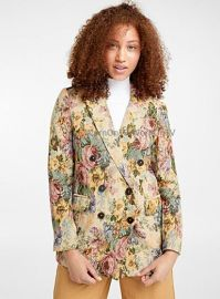 Tapestry Flower Woven Jacket by Icon at Simons
