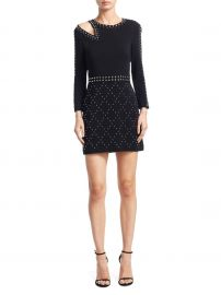 Taraji Studded Mini Dress at Saks Off 5th