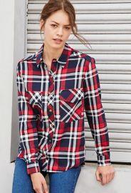 Tartan Plaid Shirt  Forever 21 - 2000140428 at Forever 21